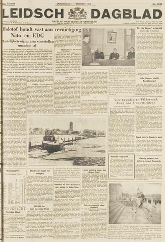 Leidsch Dagblad 1954-02-11
