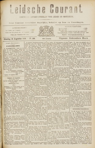 Leydse Courant 1889-08-13