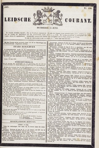 Leydse Courant 1877-06-14