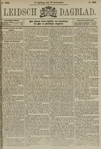 Leidsch Dagblad 1890-02-21