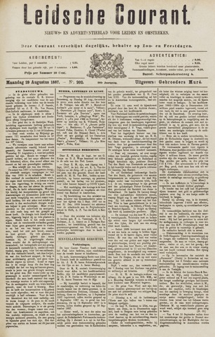 Leydse Courant 1887-08-29