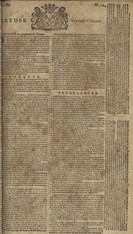 Leydse Courant 1765-08-30