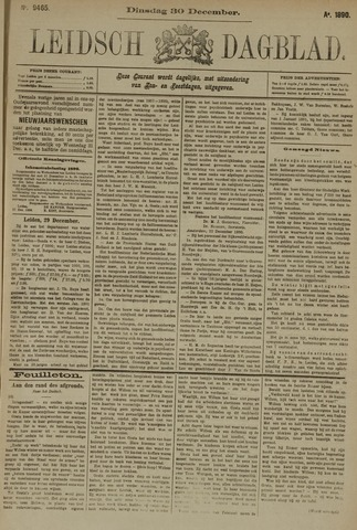 Leidsch Dagblad 1890-12-30