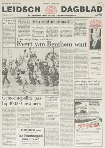 Leidsch Dagblad 1985-02-21