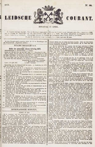 Leydse Courant 1877-04-17
