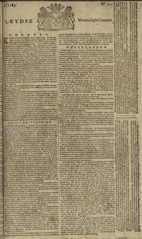 Leydse Courant 1765-10-23