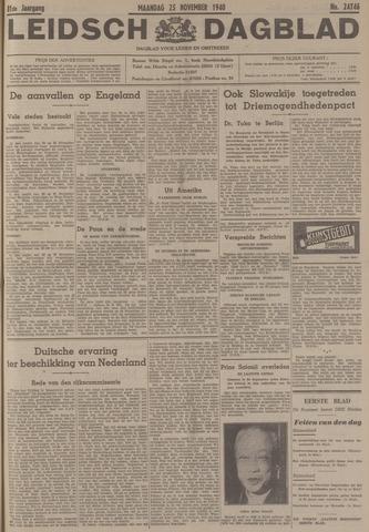 Leidsch Dagblad 1940-11-25