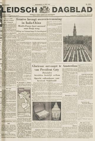 Leidsch Dagblad 1954-07-21