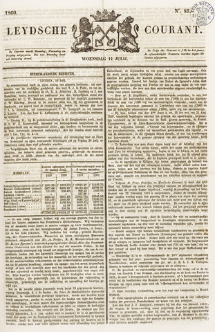 Leydse Courant 1860-07-11