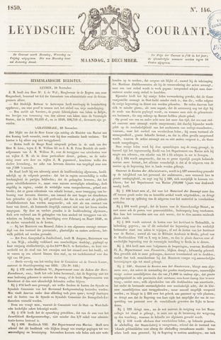 Leydse Courant 1850-12-02