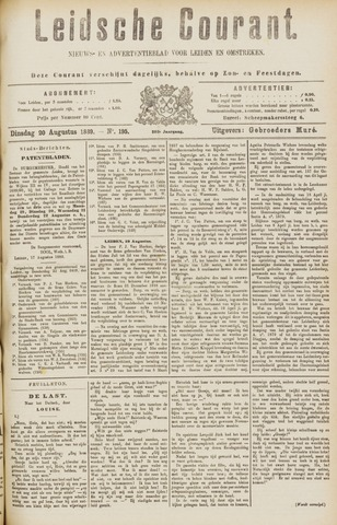Leydse Courant 1889-08-20