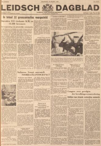 Leidsch Dagblad 1949-03-28