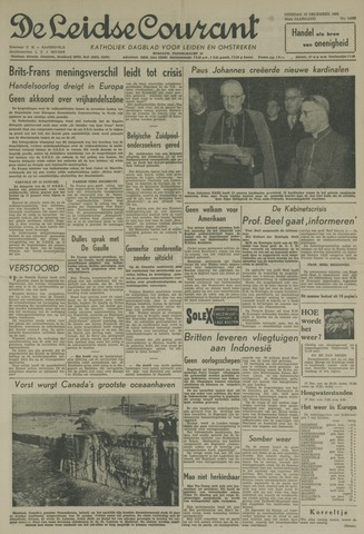 Leidse Courant 1958-12-16