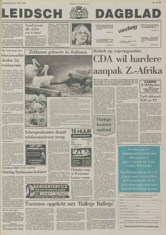 Leidsch Dagblad 1985-06-27