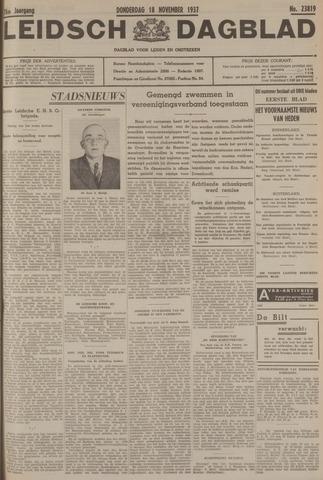 Leidsch Dagblad 1937-11-18