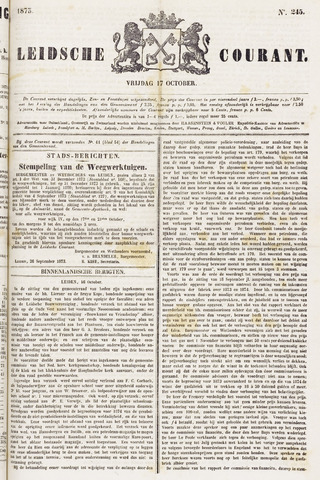 Leydse Courant 1873-10-17