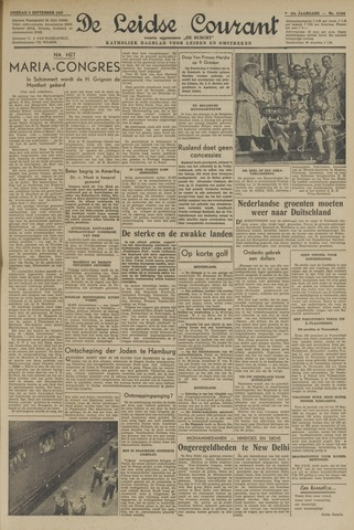 Leidse Courant 1947-09-09