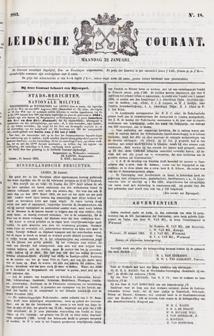 Leydse Courant 1883-01-22