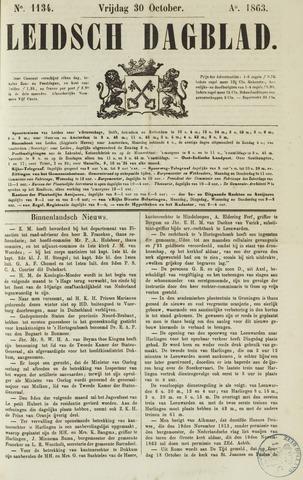 Leidsch Dagblad 1863-10-30