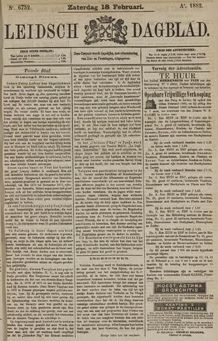 Leidsch Dagblad 1882-02-18