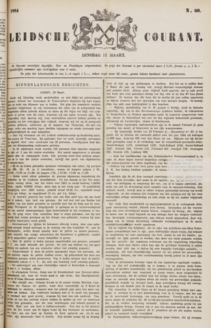 Leydse Courant 1884-03-11