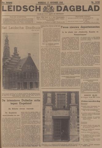 Leidsch Dagblad 1940-11-27