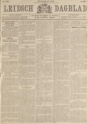 Leidsch Dagblad 1916-07-10
