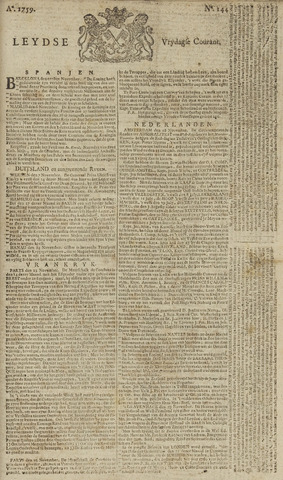 Leydse Courant 1759-11-30