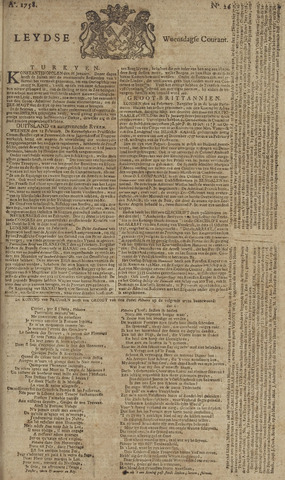 Leydse Courant 1758-03-01