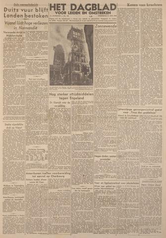 Dagblad voor Leiden en Omstreken 1944-06-21