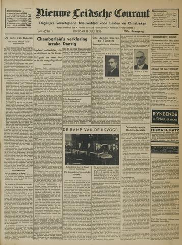 Nieuwe Leidsche Courant 1939-07-11