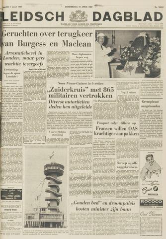 Leidsch Dagblad 1962-04-19