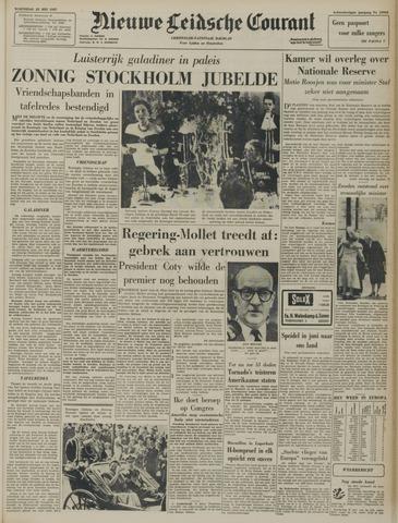 Nieuwe Leidsche Courant 1957-05-22