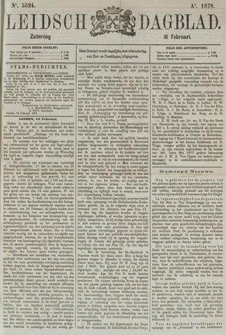 Leidsch Dagblad 1878-02-16