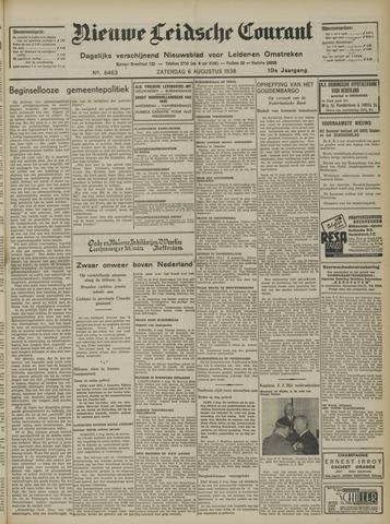 Nieuwe Leidsche Courant 1938-08-06