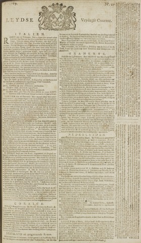 Leydse Courant 1769-03-03
