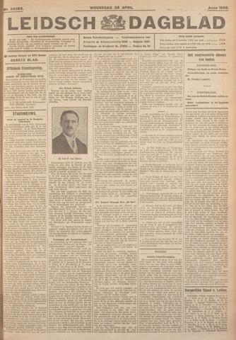 Leidsch Dagblad 1926-04-28
