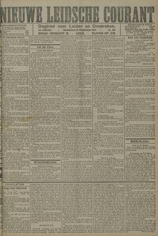 Nieuwe Leidsche Courant 1921-02-14
