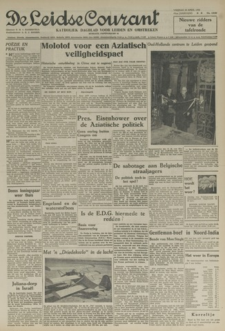 Leidse Courant 1954-04-30