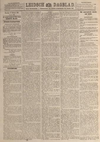 Leidsch Dagblad 1921-02-21