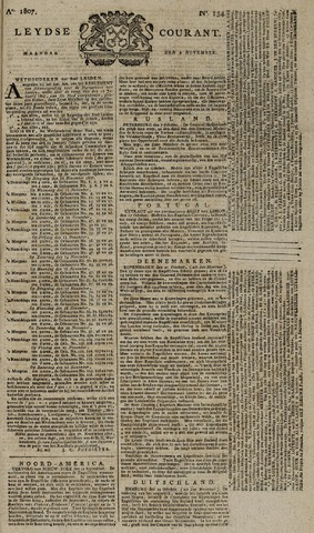 Leydse Courant 1807-11-09
