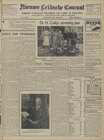 Nieuwe Leidsche Courant 1939-06-22