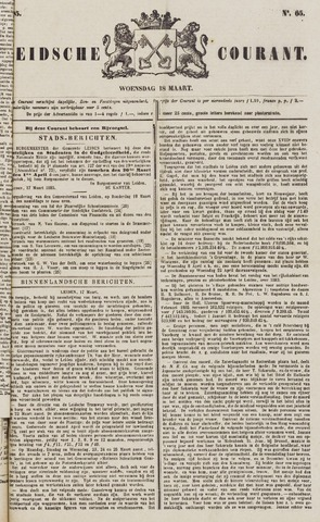 Leydse Courant 1885-03-18