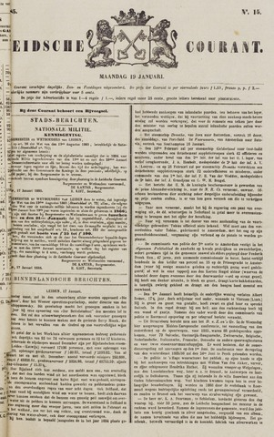 Leydse Courant 1885-01-19