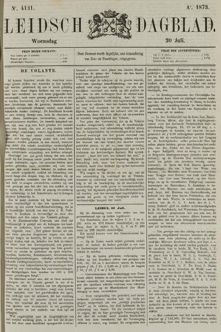 Leidsch Dagblad 1873-07-30