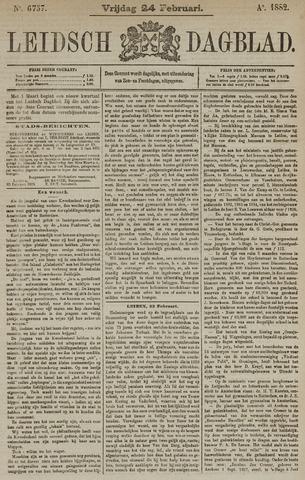 Leidsch Dagblad 1882-02-24