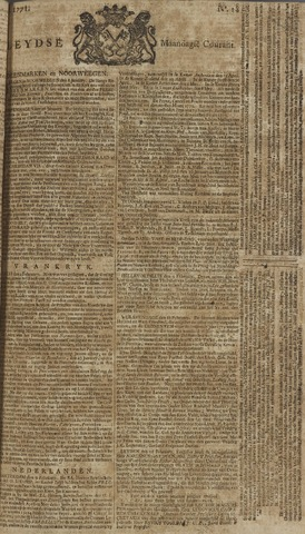 Leydse Courant 1771-02-11
