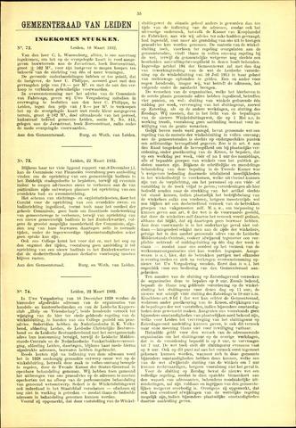 Handelingen van de Raad 1932-03-18