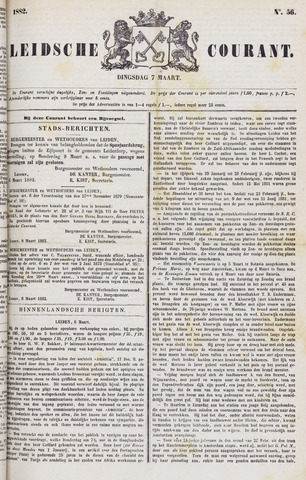 Leydse Courant 1882-03-07