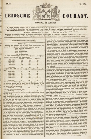 Leydse Courant 1872-10-22